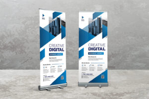 Roll Up Banner - Digital Creative Service
