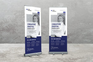 Roll Up Banner - Professional Creative