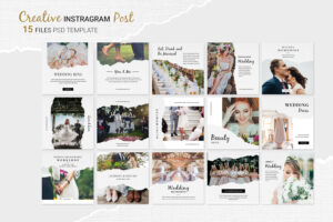 Instagram Banner - Wedding Memories