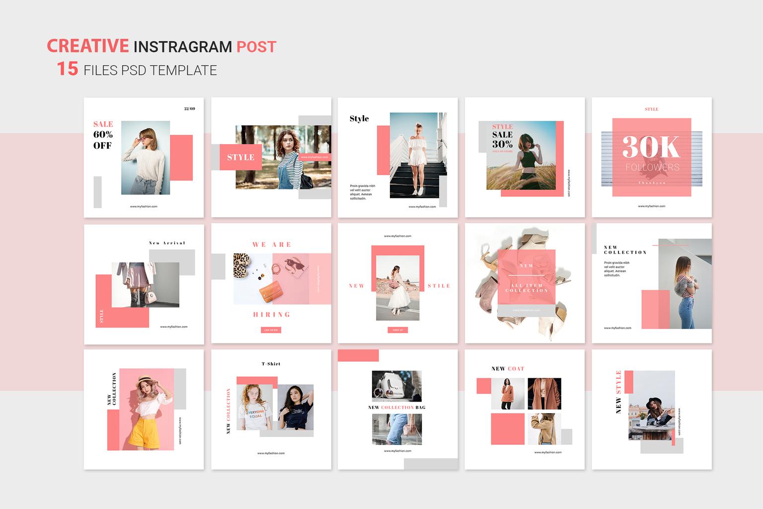 Instagram Banner - Women's Style Items