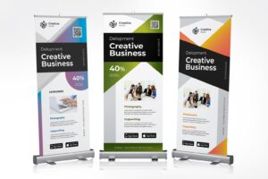 roll up banner creative business