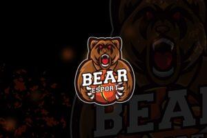 esport logo – angry bear