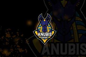 esport logo – anubis kingdom