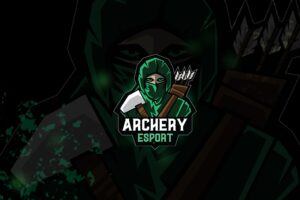 esport logo – archery squad