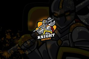esport logo – ax knight