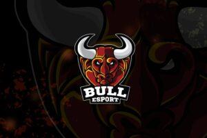 esport logo – big bull