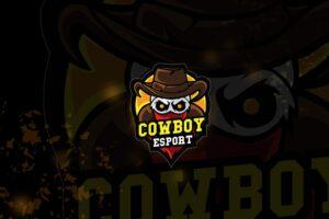 esport logo – cowboy hooligan
