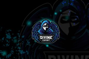 esport logo – divine shadow