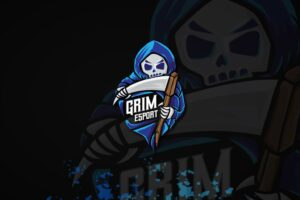 esport logo – grim reaper