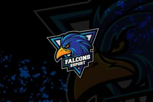 esport logo – mighty falcon 1