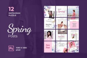 instagram puzzle – beauty spring