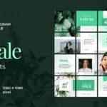 instagram puzzle – green native