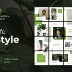 instagram puzzle – nature style