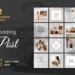 instagram puzzle – wedding event