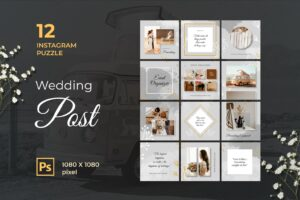 instagram puzzle – wedding event
