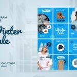 instagram puzzle – winter big sale