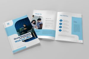brochure business growth 7