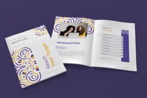 brochure business targets 8