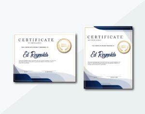 certificate classic motive 1
