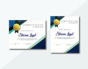certificate premium awards