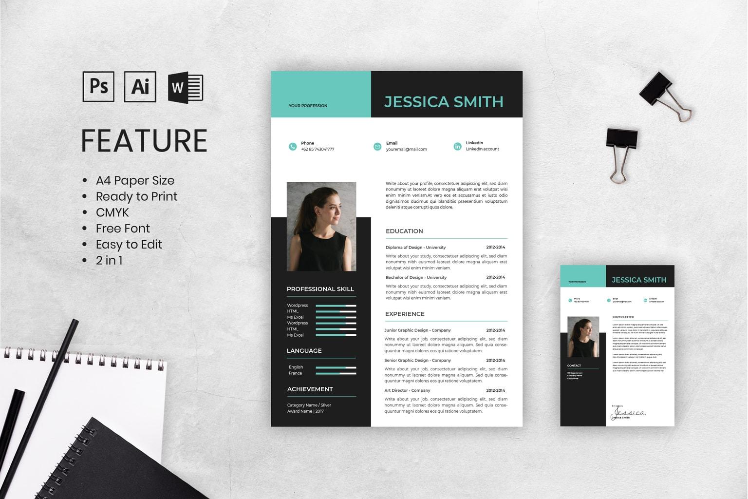 cv resume digital content creator