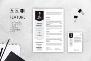 cv resume smart graphic designer