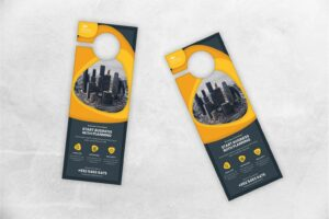 door hanger business planner network