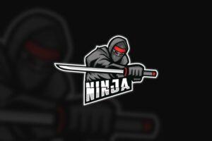 esport logo adept ninja 1