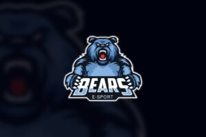 esport logo bears esport