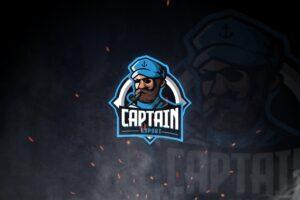 esport logo conqueror captain
