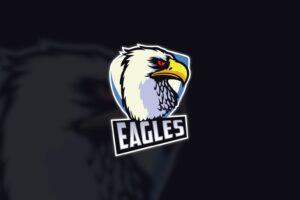 esport logo explorer eagle