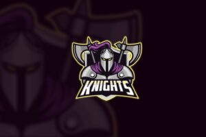 esport logo knight heir