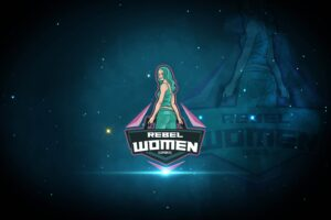 esport logo rebel women