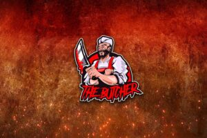 esport logo the butcher
