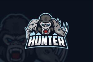esport logo the hunters wild 1
