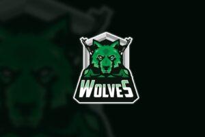 esport logo wolves army