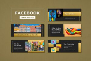 facebook cover creative wall art