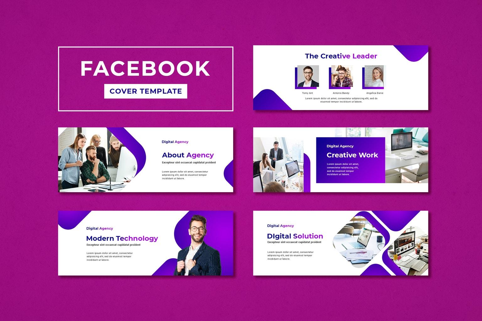 facebook cover digital business solution