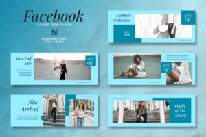 facebook cover end of year sales mode