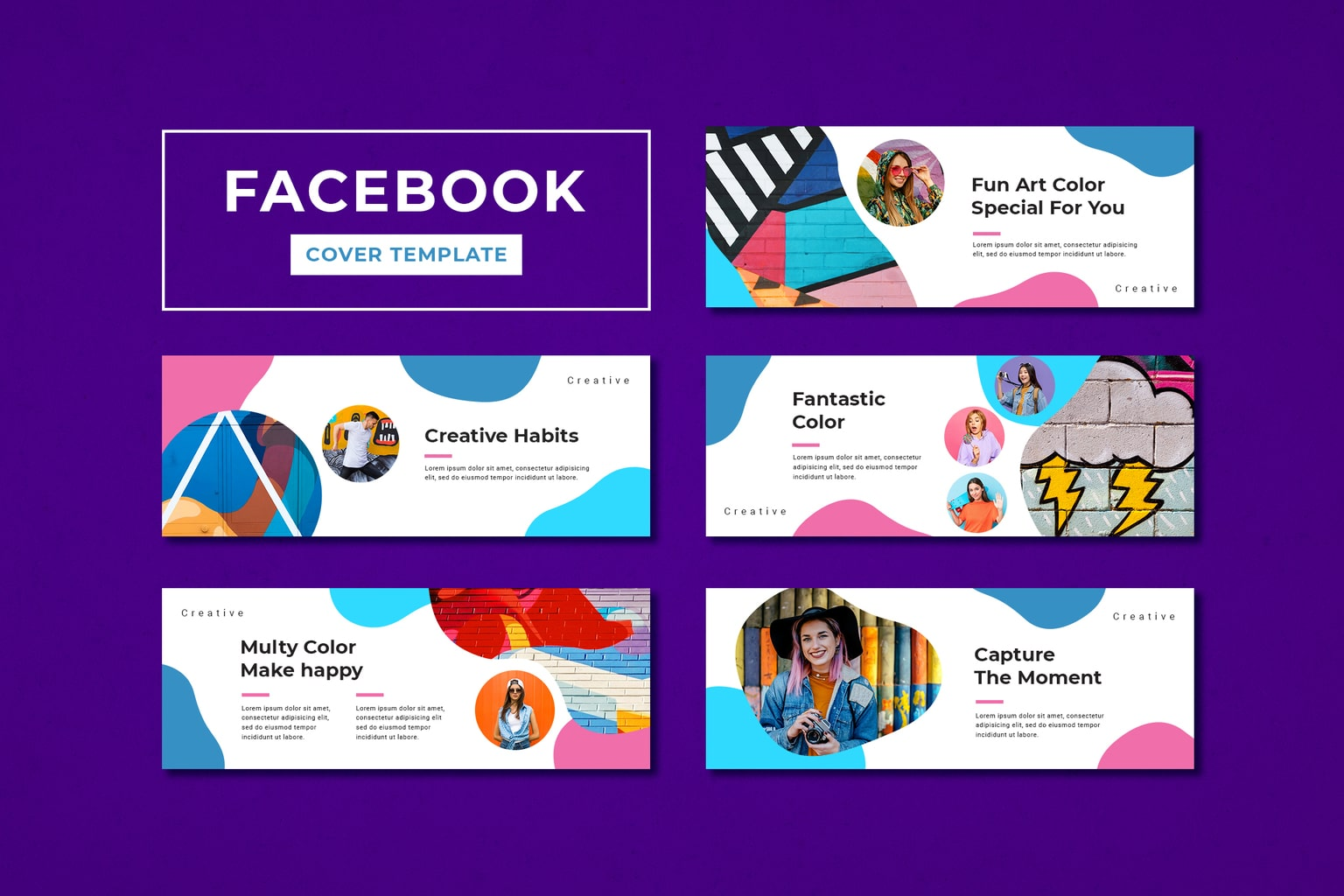 facebook cover fun and creative arts