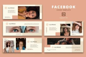 facebook cover minimalist casual style