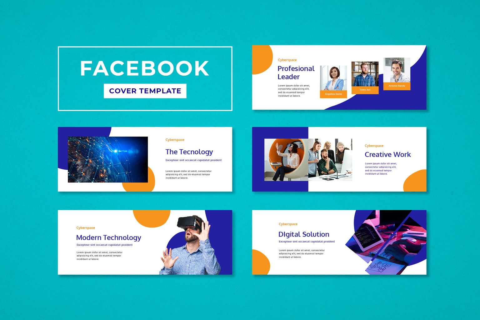 facebook cover modern technology solution