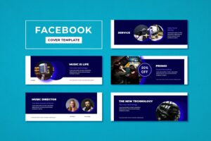 facebook cover recording music studio