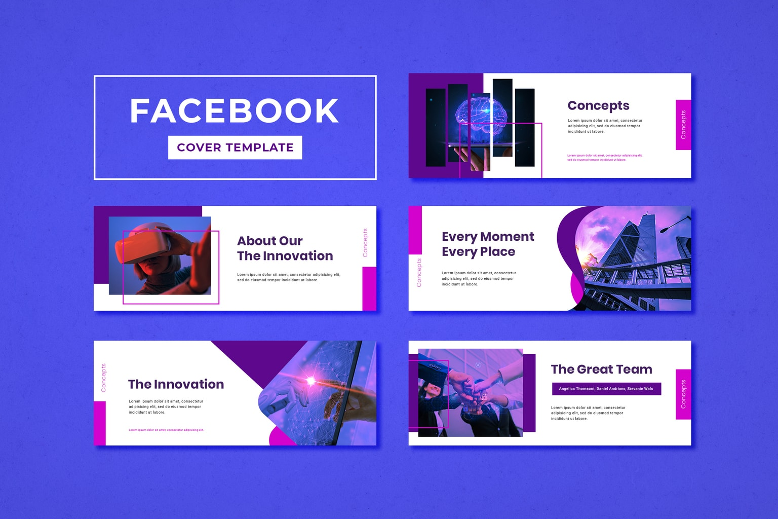 facebook cover science technology innovation