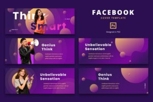 facebook cover think smart campaign