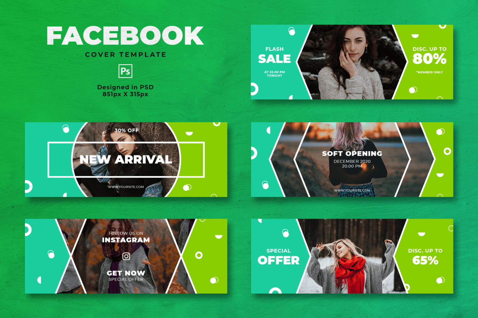 facebook cover trendy fashion sales