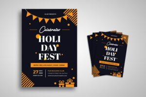 flyer fun holiday fest