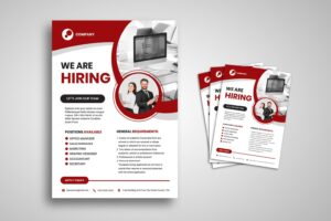 flyer professional hiring