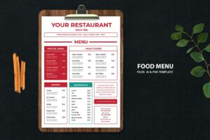 food menu original favorite resto