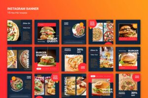 instagram banner king of fastfood 5